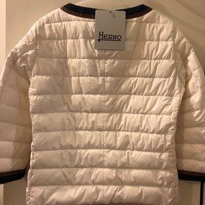 Herno Jackets & Coats - 3/4 Sleeve Herno Puffer Jacket